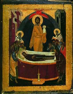 Феофан Грек. «Успение Богоматери». XIV век