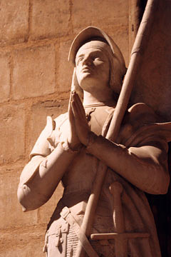 Жанна Д'Арк. Собор Нотр-Дам. Париж