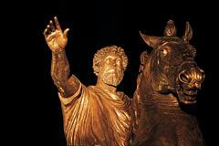 Марк Аврелий. Площадь Капитолия, Рим