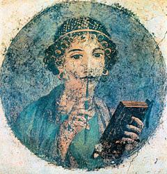 Неизвестный художник из Геркуланума. Сафо