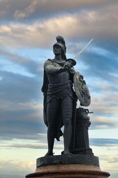 Памятник А.В.Суворову вобразе римского бога Марса. Санкт-Петербург