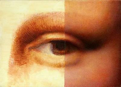 Мона Лиза. Фрагмент