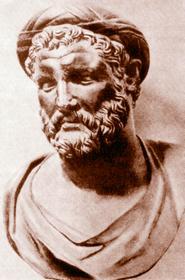 Пифагор (ок. 580 - ок. 500 гг. до н. э.) - знаменитый греческий мыслителью Основанное им в Кротоне пифагорейское братство имело целью нравственное обновление общества и очищение религиозных воззрений