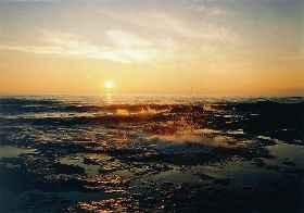 Каспийское море в окрестностях актау