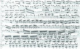 Партитура концерта из цикла «Времена года» Вивальди