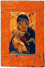 Владимирская икона, византийская по своему происхождению, представляет определенный иконографический тип. На подобных иконах Богоматерь держит на коленях младенца Иисуса, а тот прижимается щечкой к щеке матери, обнимает ее… И не нуждается в дополнительной расшифровке название этого типа икон — «Умиление». Но Владимирская икона получила еще одну жизнь. Не так много икон, с которых сделано столько списков, причем каждый — это отдельное художественное явление.