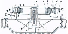 Российский вариант генератора Джона Сёрла - установка С. М. Година и В. В. Рощина br br В ходе эксперимента было...
