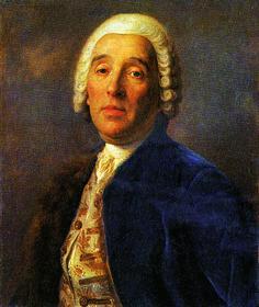 П. Ротари. Портрет архитектора Бартоломео Растрелли. Вторая половина 1750 — начало 1760-х