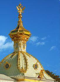 Купол «Павильона под гербом» в Петергофе
