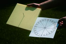 Солнечные часы своими руками фото