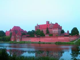 Замок Мариенбург в Мальборке (Польша)
