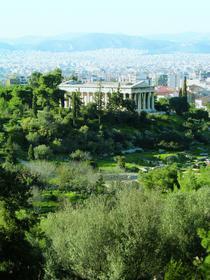Храм Гефеста над Афинами