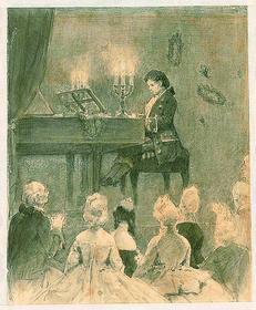 Людвиг за роялем